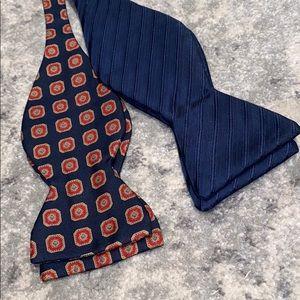 Navy Tuxedo Bow Ties (2)